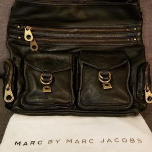 Marc by Marc Jacob's hobo leather bag